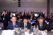 Bộ trưởng Công an Tô Lâm tham dự Hội nghị lãnh đạo phụ trách an ninh tại Nga
