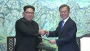 Hội nghị Thượng đỉnh liên Triều ra 'Tuyên bố chung Panmunjom'