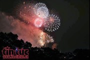 TP Hồ Chí Minh có 2 điểm bắn pháo hoa dịp nghỉ lễ 30/4 và 1/5