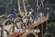 Chậm tiến độ tháo dỡ công trình xây dựng trái phép tại khu vực Tràng An cổ