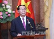 Chủ tịch nước Trần Đại Quang gửi thư nhân Ngày truyền thống phòng, chống thiên tai của Việt Nam