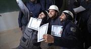 Mỹ tạm ngừng tài trợ cho tổ chức White Helmets tại Syria