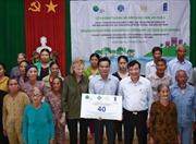 Hỗ trợ người dân Quảng Ngãi chống chịu với tác động của biến đổi khí hậu