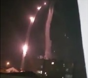 Video phòng không Syria đánh chặn hàng chục đầu đạn của Israel trong đêm