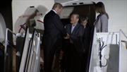 Hình ảnh đầu tiên Tổng thống Trump đón 3 công dân vừa được Triều Tiên trả tự do