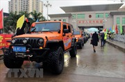 Du khách bắt đầu được đi du lịch tự lái xe qua biên giới Lạng Sơn - Quảng Tây