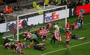 Griezmann lập cú đúp đưa Atletico Madrid hoàn tất hat-trick vô địch Europa League