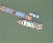 Bắt giữ tàu QN-2268 chở than cám không rõ nguồn gốc