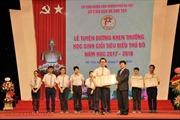 Hà Nội tuyên dương khen thưởng học sinh giỏi tiêu biểu năm học 2017-2018