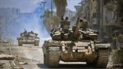Quân đội Syria tổng tấn công, quyết tâm giải phóng hoàn toàn Damascus từ tay IS