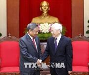 Tổng bí thư tiếp đoàn đại biểu Ban Tổ chức Trung ương Đảng Nhân dân Cách mạng Lào