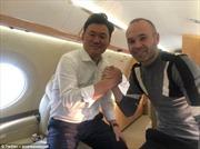 Huyền thoại Iniesta sánh đôi cùng Vissel Kobe với mức lương ngất ngưởng