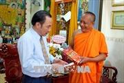 Lãnh đạo Ủy ban Trung ương MTTQ Việt Nam chúc mừng Lễ Phật đản
