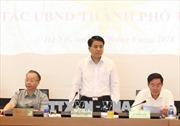 Hà Nội: Tăng cường quản lý đô thị, chủ động ứng phó với các vấn đề mùa mưa bão