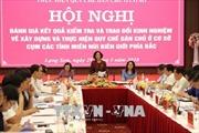 Đồng chí Trương Thị Mai: Nêu cao tinh thần trách nhiệm người đứng đầu trong thực hiện quy chế dân chủ ở cơ sở