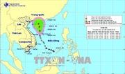 Áp thấp nhiệt đới di chuyển về phía Tây