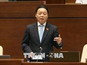 Bộ trưởng Trần Hồng Hà: Quốc hội nên có nghị quyết đặc thù về quản lý đất đai ở đặc khu kinh tế
