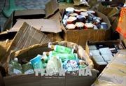 Hàng nghìn hộp mỹ phẩm nhập lậu tại Quảng Ninh