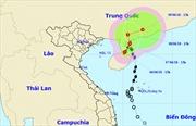 Khoanh vùng nguy hiểm trên Biển Đông do bão số 2