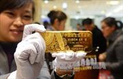 Giá vàng châu Á chạm mức cao trong hai tuần