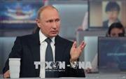 Tổng thống Nga V.Putin nhấn mạnh sự cần thiết xây dựng quan hệ hợp tác quốc tế