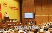 Quốc hội biểu quyết thông qua hai dự thảo Nghị quyết và ba dự thảo Luật