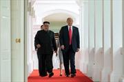 Nhà lãnh đạo Kim Jong-un đến điểm gặp sớm hơn Tổng thống Trump là có ý