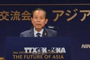 Phó Thủ tướng Thường trực Chính phủ Trương Hòa Bình thăm, làm việc tại Nhật Bản