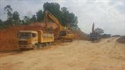 Rà soát các mỏ đất phục vụ dự án cao tốc Bắc Giang – Lạng Sơn