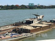 Xử lý nghiêm tình trạng 'cát tặc' ở Hưng Yên