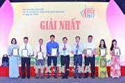 Trao Giải thưởng toàn quốc về thông tin đối ngoại năm 2017