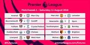 Ngoại hạng Anh chính thức công bố lịch thi đấu, Arsenal gặp khó ngay vòng đầu