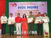 Tôn vinh những tấm gương hiến máu tình nguyện tiêu biểu