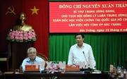 Bí thư Trung ương Đảng Nguyễn Xuân Thắng làm việc tại Sóc Trăng