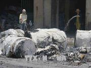 Cháy xưởng sản xuất giấy phôi Bắc Ninh gây thiệt hại 1 tỷ đồng