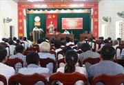 Đoàn đại biểu Quốc hội Thừa Thiên - Huế tiếp xúc cử tri tại nhiều địa phương