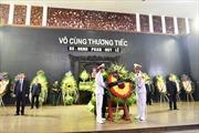 Thành kính, xúc động lễ viếng Giáo sư Phan Huy Lê