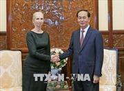 Chủ tịch nước Trần Đại Quang tiếp Đại sứ Vương quốc Na Uy