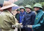 Kiểm tra công tác khắc phục hậu quả mưa lũ tại Lai Châu