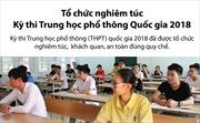 Tổ chức nghiêm túc Kỳ thi Trung học phổ thông Quốc gia 2018