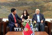 Phó Thủ tướng Phạm Bình Minh hội kiến lãnh đạo Quốc hội Hy Lạp