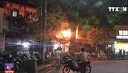 Cháy lớn tại quán bia tại Hà Nội, thực khách nhảy từ tầng 2 thoát thân