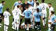 WORLD CUP 2018: Mbappe bị tố học Neymar tật 'ăn vạ' sau pha lăn lộn ở trận tứ kết với Uruguay