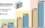 Hà Nội áp dụng mức thu học phí mới đối với các trường công lập