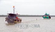 Bộ đội Biên phòng Sóc Trăng cứu nạn thành công tàu cá gặp nạn trên biển