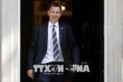 Ông Jeremy Hunt làm tân Ngoại trưởng Anh