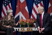 Tổng thống Mỹ tới Anh trong mối hoài nghi về kế hoạch Brexit