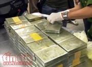 Giấu 26 bánh heroin trong bao tải dứa để vận chuyển  từ Hòa Bình về Hà Nội
