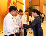 Chủ tịch Quốc hội Nguyễn Thị Kim Ngân gặp mặt 70 công nhân, lao động tiêu biểu xuất sắc