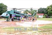 Vỡ đập thủy điện tại Lào: Đã giải cứu hàng trăm người dân bị mắc kẹt